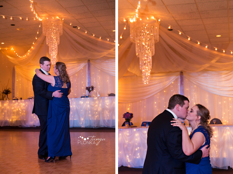 Andrea and Tylor, Italian Canadian Club Lethbridge spring wedding reception