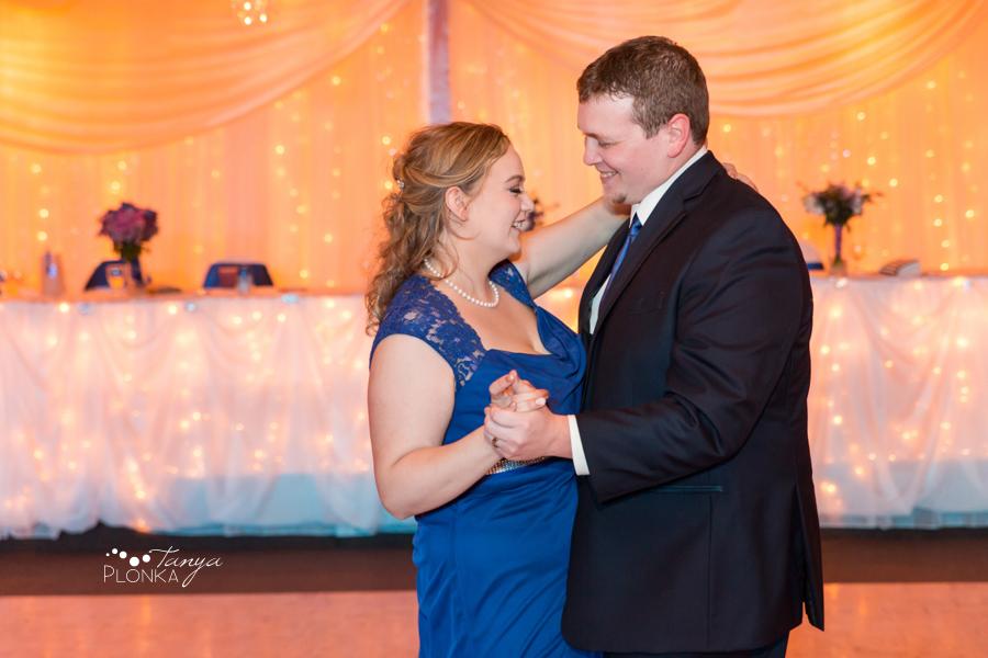 Andrea and Tylor, Italian Canadian Club spring wedding
