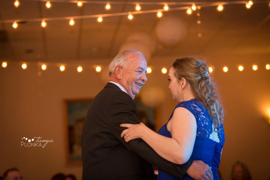 Andrea and Tylor, Italian Canadian Club Lethbridge spring wedding