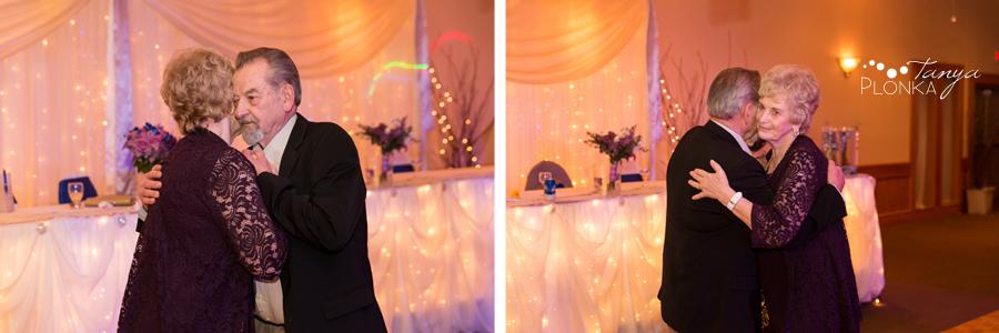 Andrea and Tylor, Italian Canadian Club Lethbridge spring wedding reception