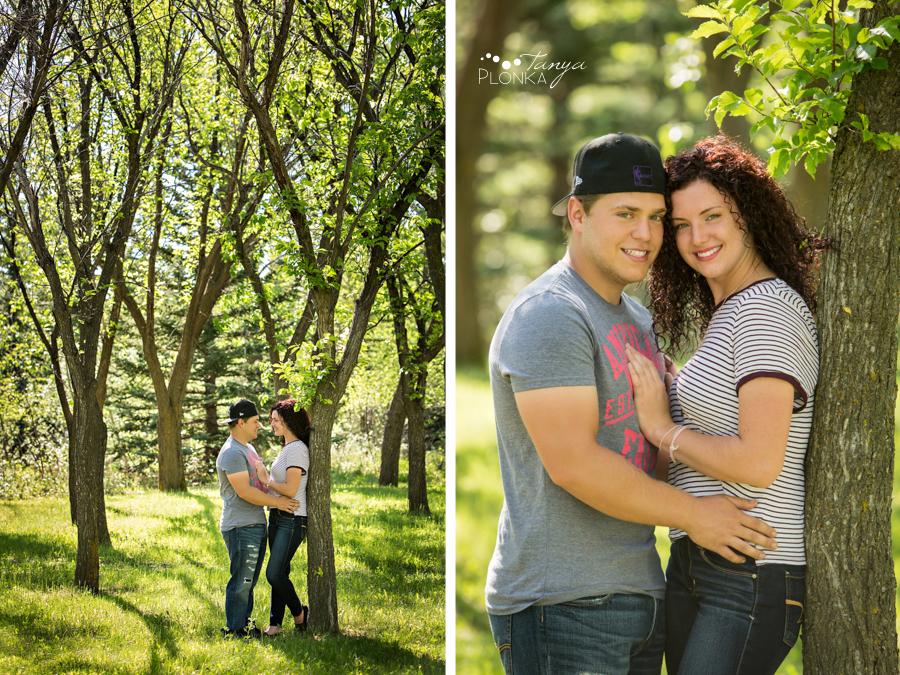 Lethbridge casual couples photo session