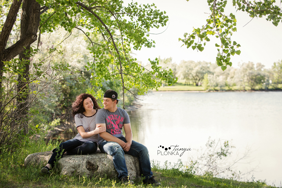Lethbridge casual couples portraits