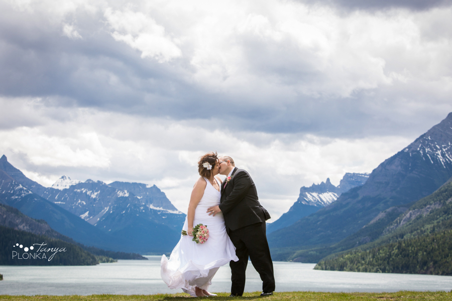 Dara and Chris, Waterton cliff side wedding photos