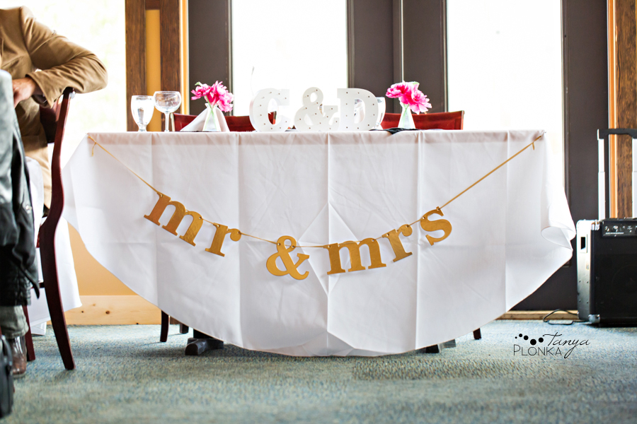 Dara and Chris, Waterton Lakes Lodge patio wedding