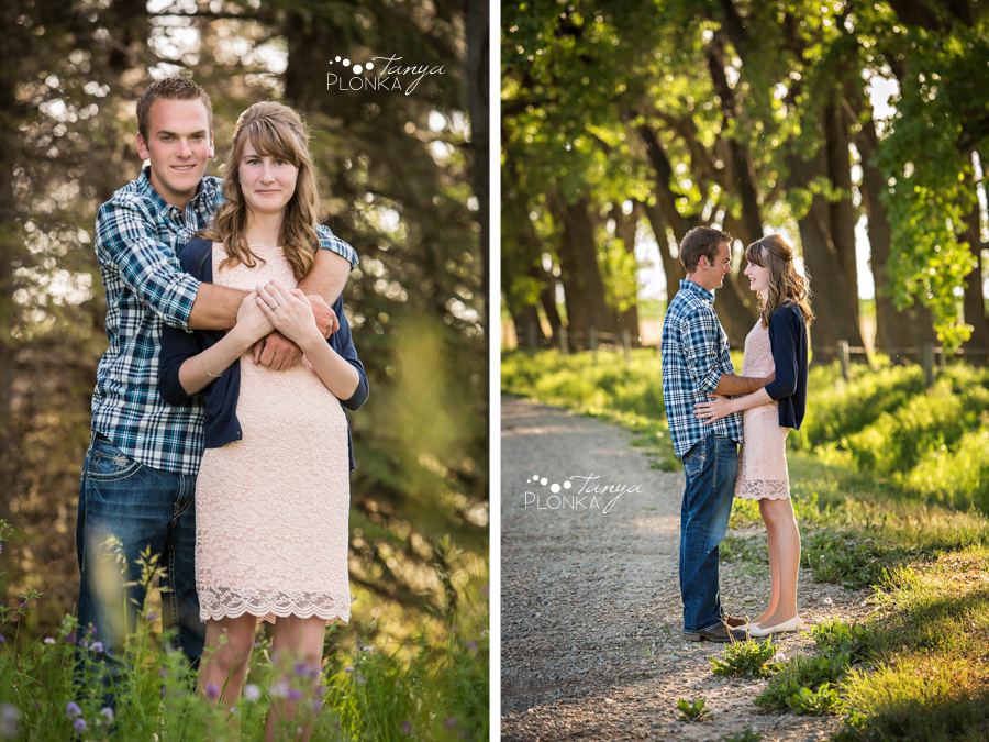 Park Lake country engagement photography