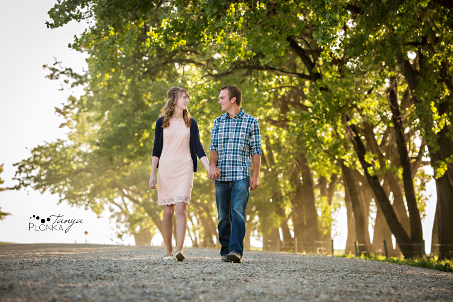 Park Lake country engagement session