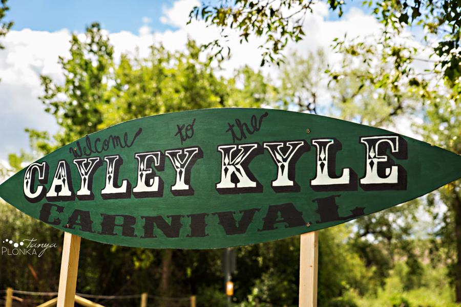 Kyle and Cayley, Lethbridge carnival themed wedding photos