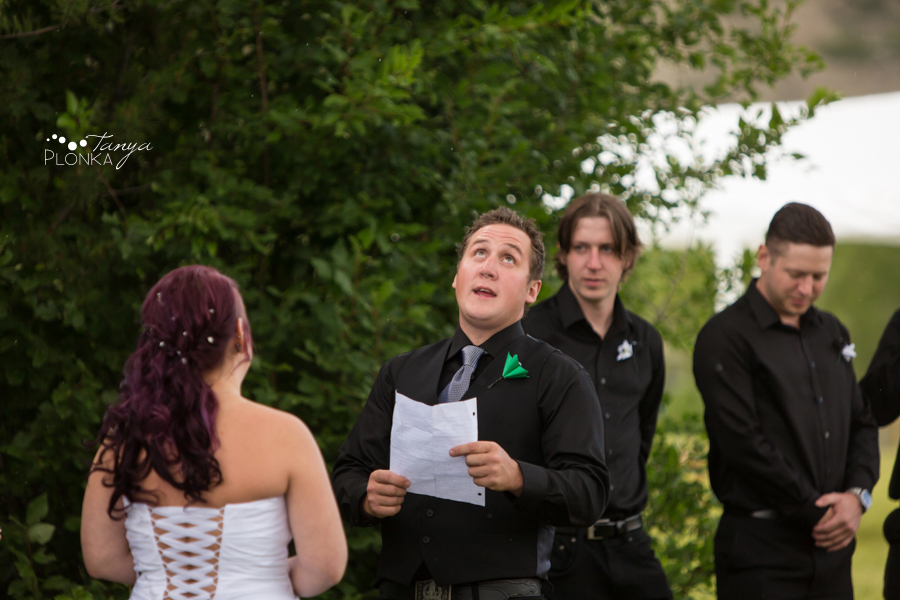 Kyle and Cayley, Lethbridge carnival themed wedding photography