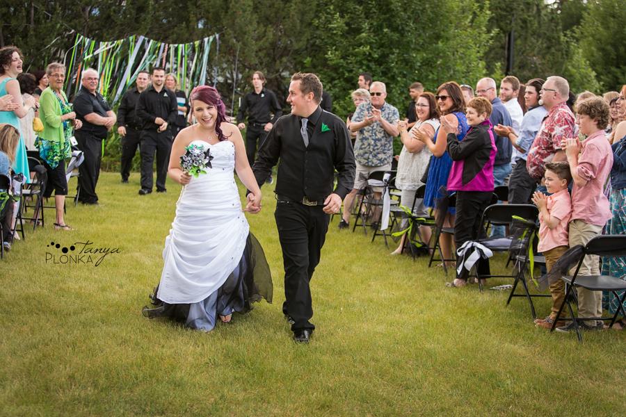 Kyle and Cayley, Lethbridge Pavan Park carnival wedding