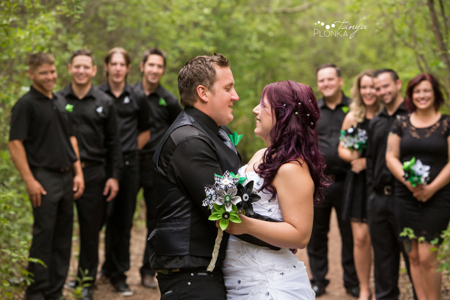Kyle and Cayley, Lethbridge carnival themed wedding photos