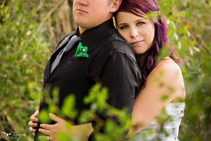 Kyle and Cayley, Lethbridge outdoor wedding