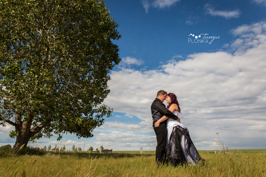 Kyle and Cayley, Pavan Park carnival wedding