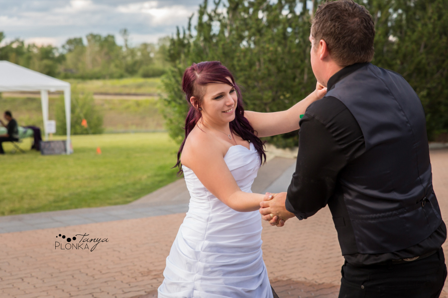 Kyle and Cayley, Lethbridge Pavan Park carnival wedding photos