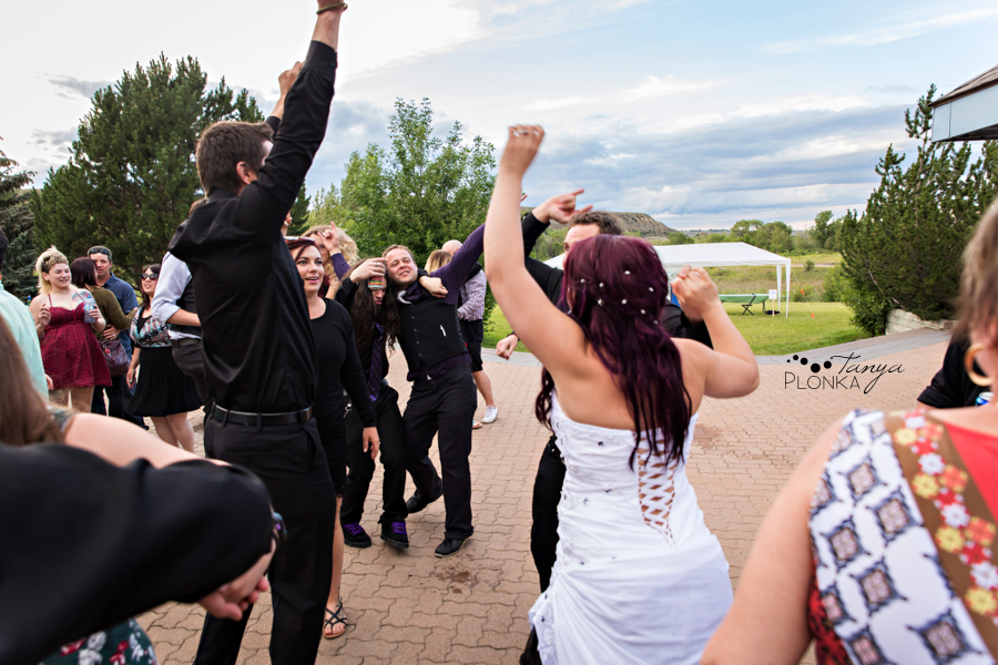 Kyle and Cayley, Lethbridge carnival themed wedding