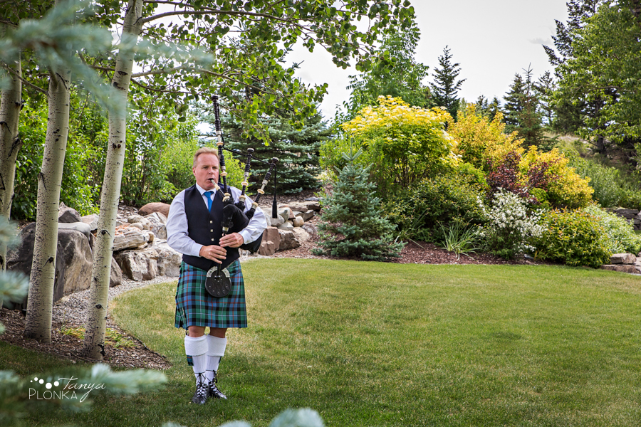 Jill and Shaun, Crowsnest Pass scenic outdoor wedding ceremony