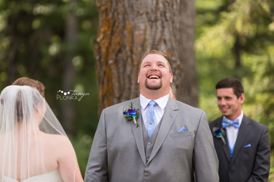 Jill and Shaun, Crowsnest Pass scenic outdoor wedding