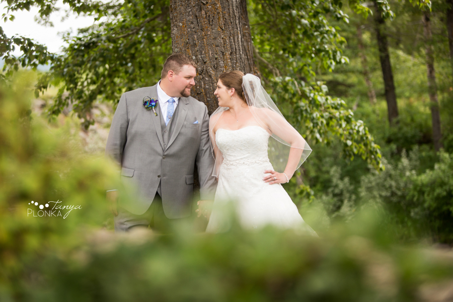 Jill and Shaun, Crowsnest Pass scenic outdoor wedding photography