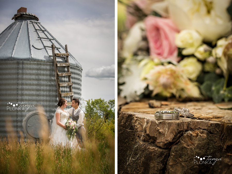 Jelaina & Daniel, Picture Butte rural wedding photos