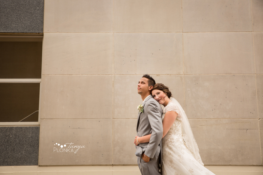 Jelaina & Daniel, downtown Lethbridge wedding photos