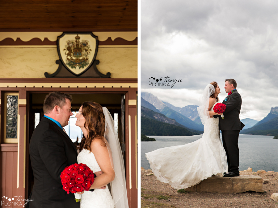 Shawn & Adrienne, Waterton Prince of Wales wedding photos