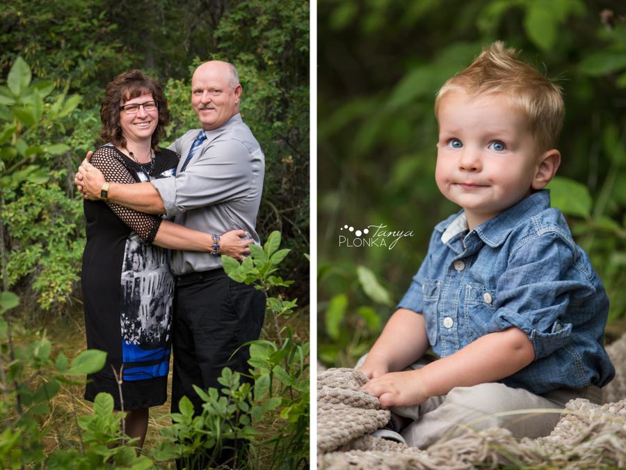 Park Lake multi-generation family photos