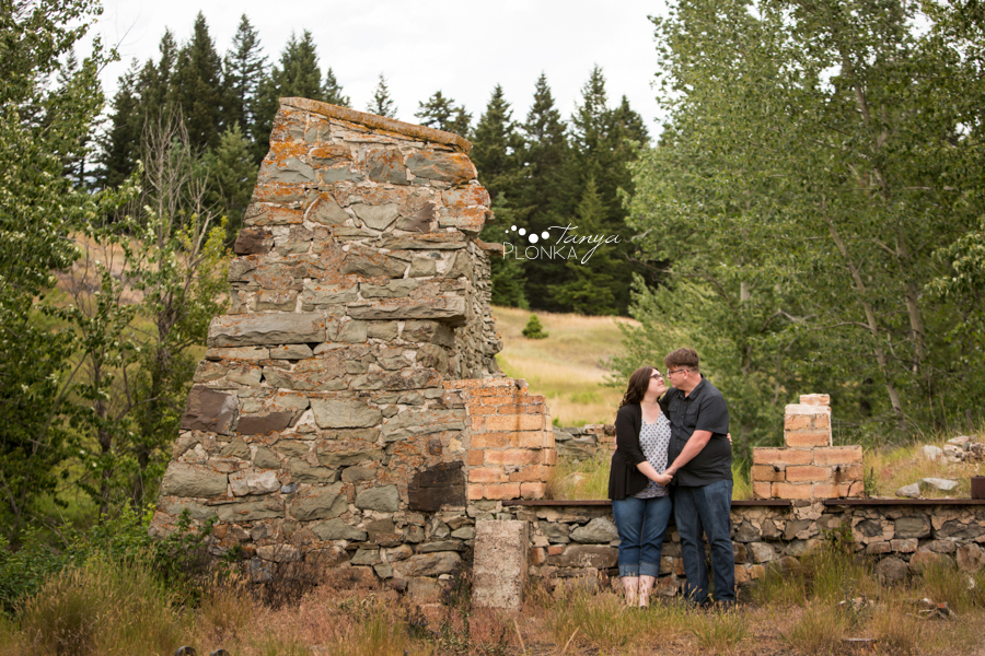 Crowsnest Pass engagement photography
