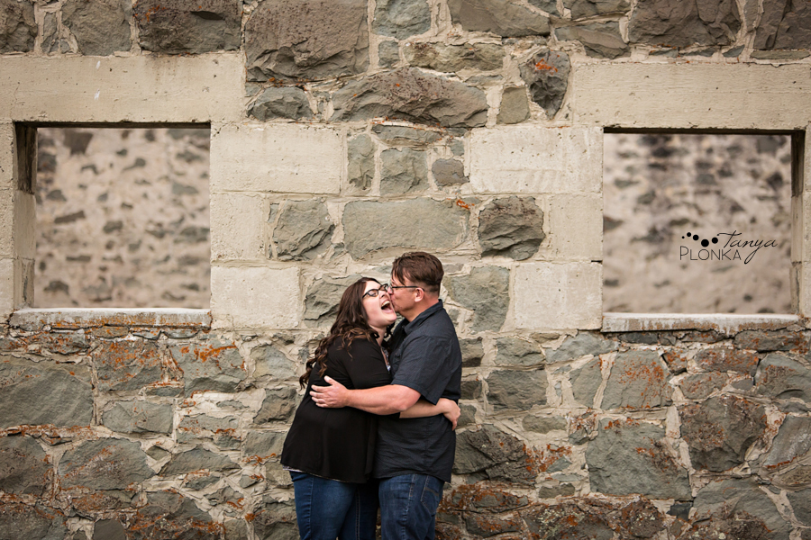 Leitch Collieries engagement photos