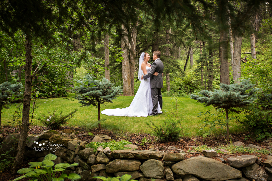 Travis & Stephanie, Crowsnest Pass SpringBreak Flower Farm Wedding