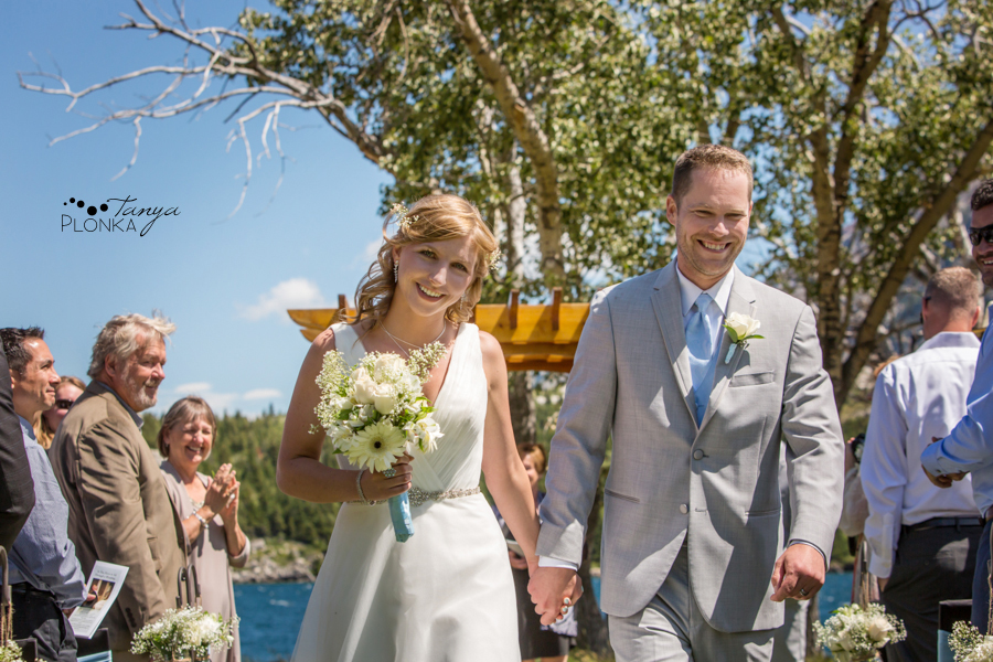 Monika and Peter, Bayshore Inn Waterton wedding ceremony