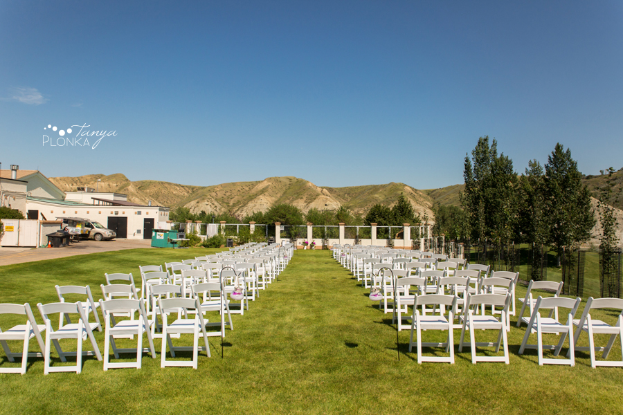 Mark and Shelly, Paradise Canyon outdoor summer wedding