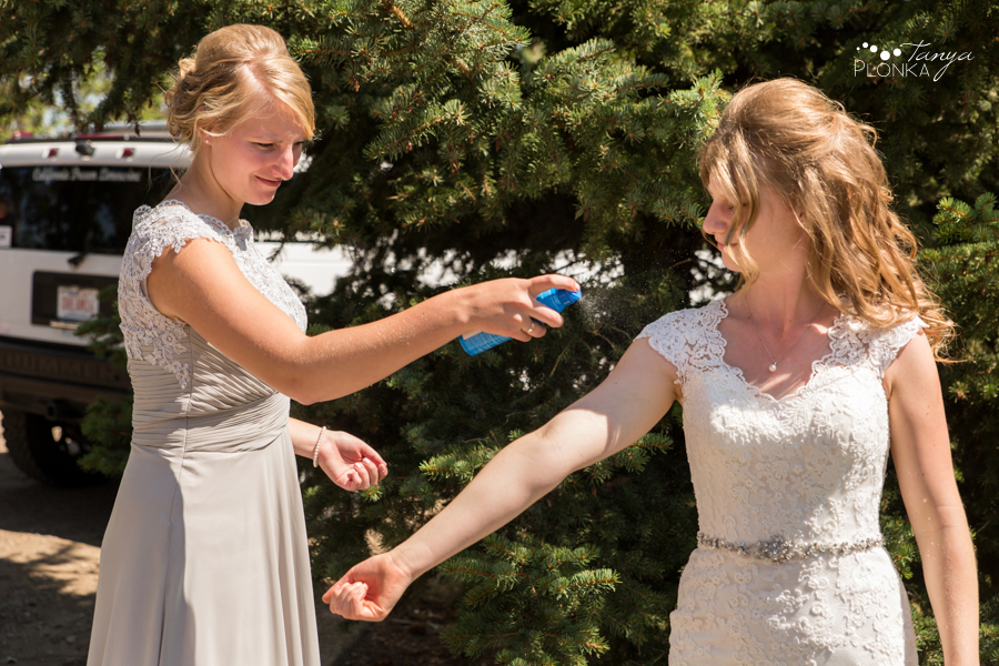 Rylan and Sarah, Southern Alberta outdoor summer wedding photos