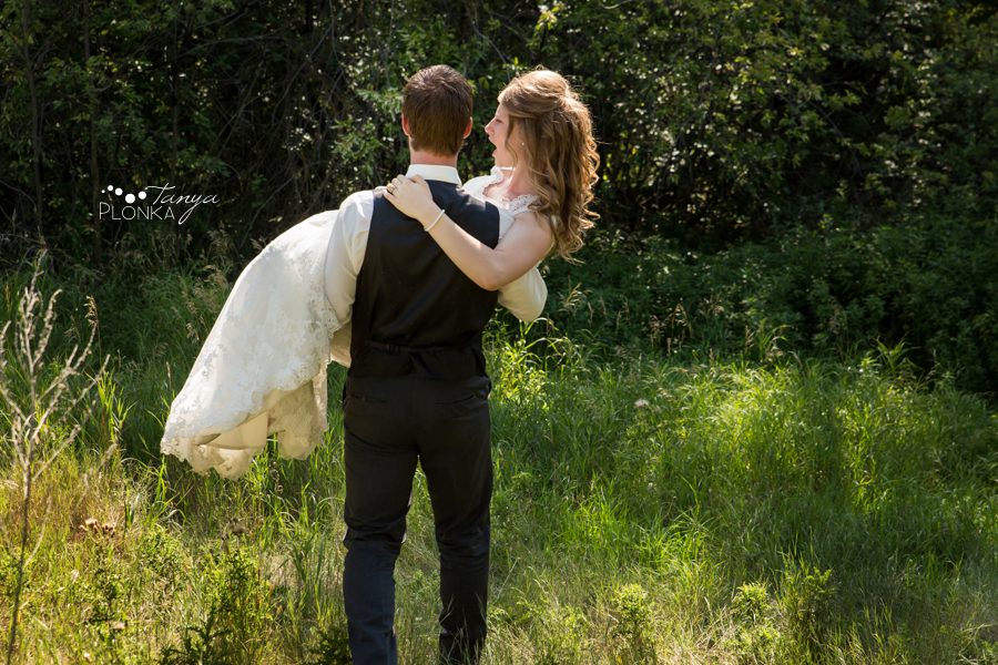 Rylan and Sarah, Lethbridge summer wedding photos