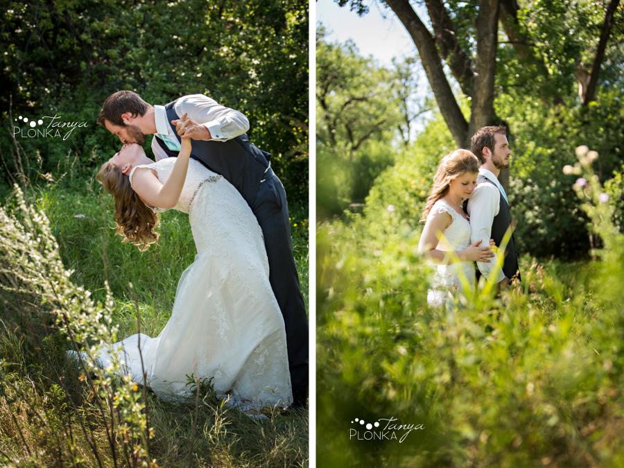 Rylan and Sarah, Indian Battle Park summer wedding photos