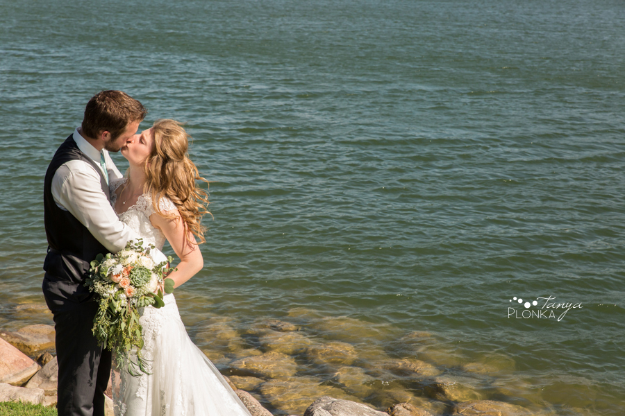 Rylan and Sarah, Henderson Lake summer wedding photography