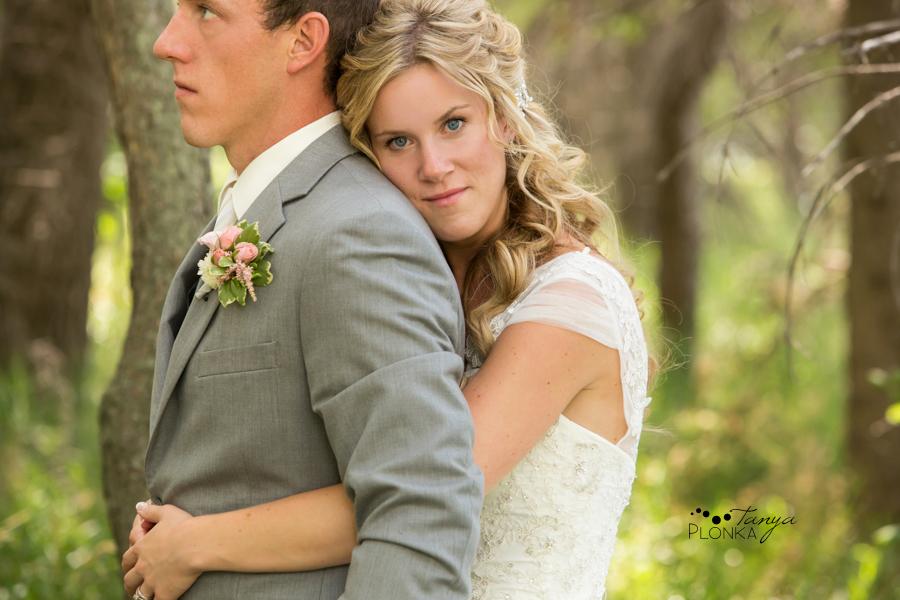 Janine and Travis, Park Lake wedding photos