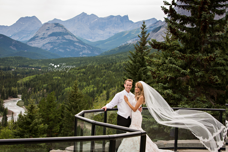 Jena and Daniel, Kananaskis Delta Lodge Wedding