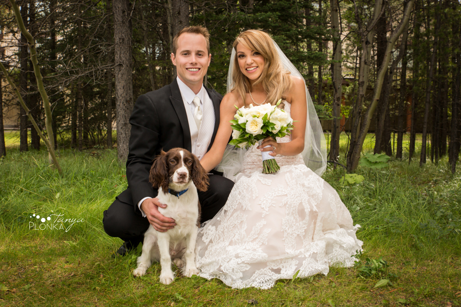 Jena and Daniel, Kananaskis mountain resort wedding photography