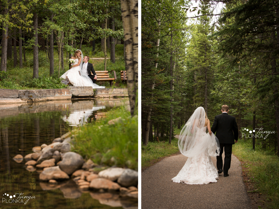 Jena and Daniel, Kananaskis Delta Lodge wedding photos