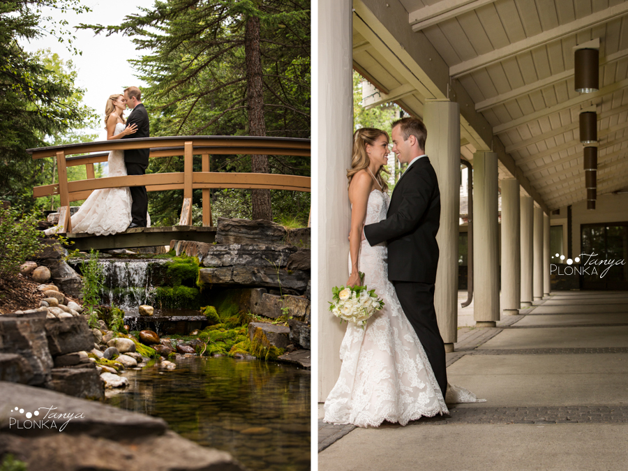 Jena and Daniel, Kananaskis mountain resort wedding photos