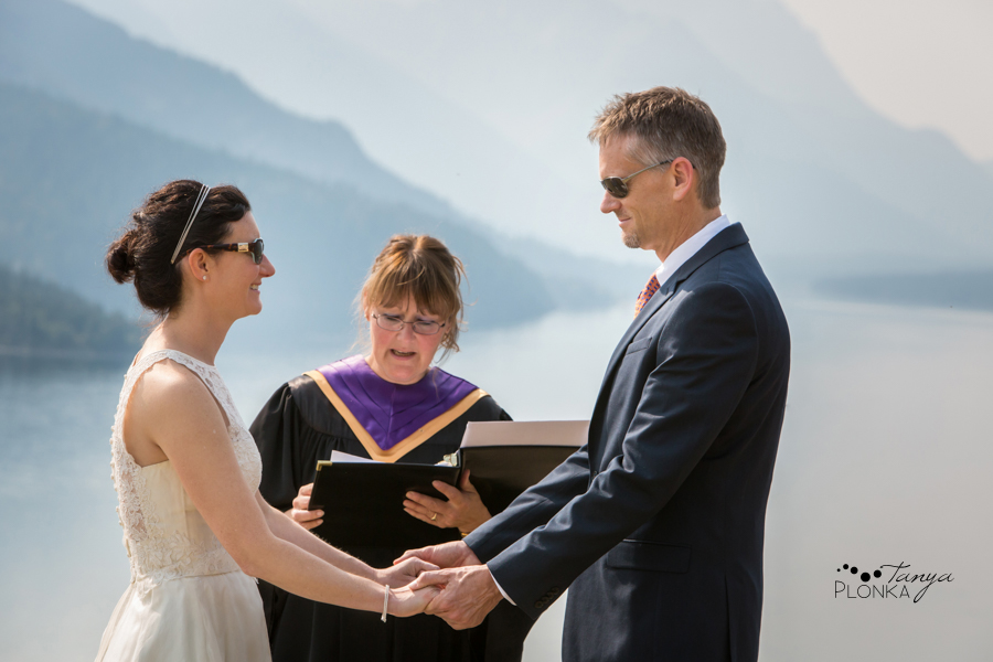 Ryan and Becky, Prince of Wales wedding elopement photos