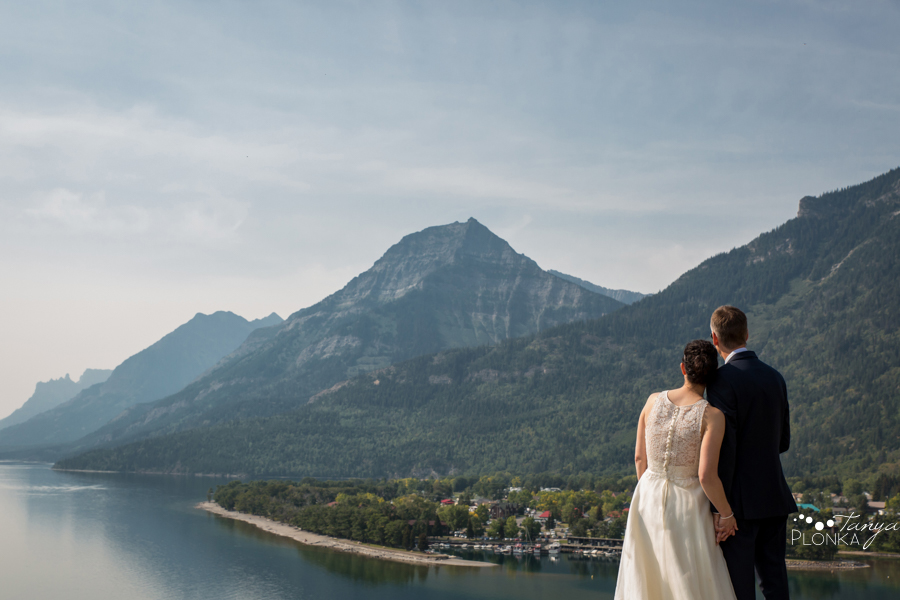 Ryan and Becky, Prince of Wales Waterton elopement photography