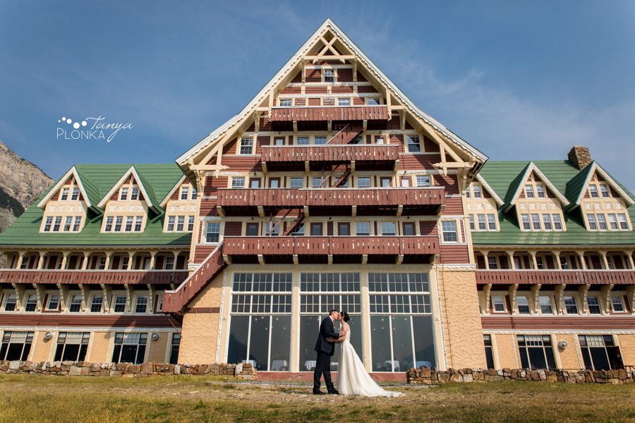 Ryan and Becky, Prince of Wales Waterton elopement photos
