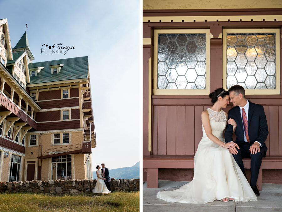 Ryan and Becky, Prince of Wales Waterton elopement