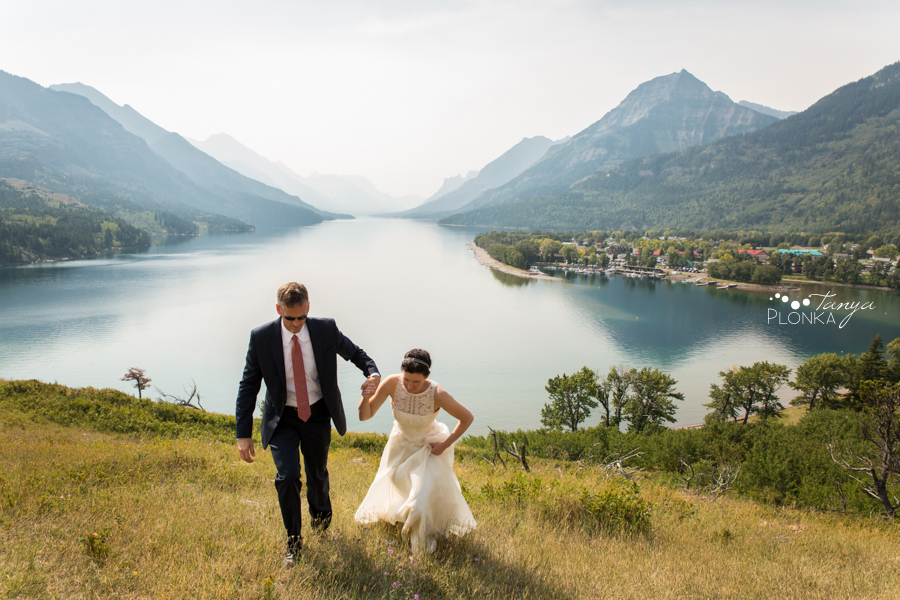 Ryan and Becky, Prince of Wales wedding elopement photography