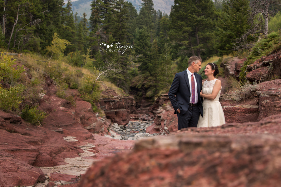 Ryan and Becky, Red Rock Canyon Waterton elopement photography