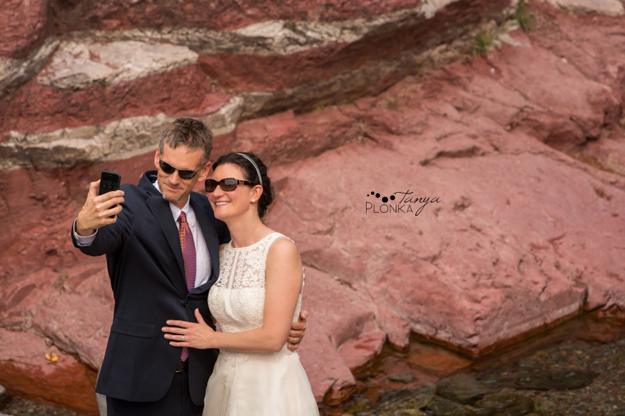 Ryan and Becky, Red Rock Canyon Waterton elopement photos