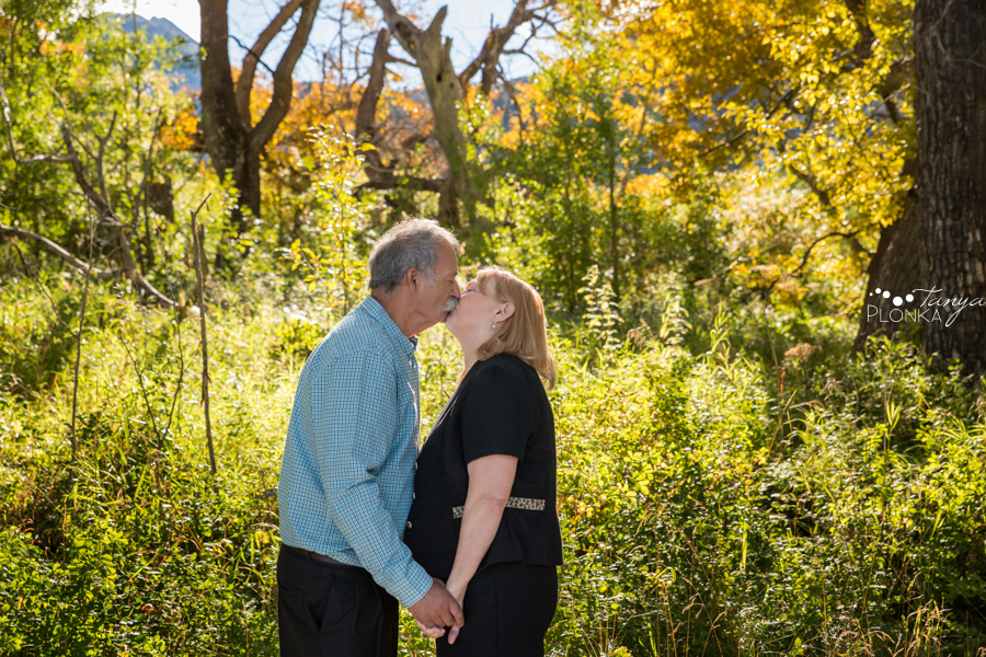 Waterton Lakes anniversary portrait session