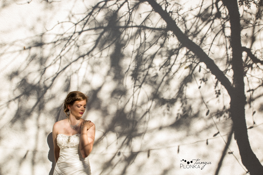 Cameron and Morgan, downtown Fort Macleod wedding photos