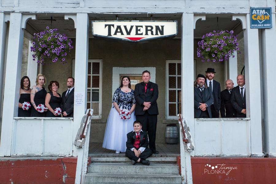 Desiree and Craig, Crowsnest Pass Green Hill Hotel wedding