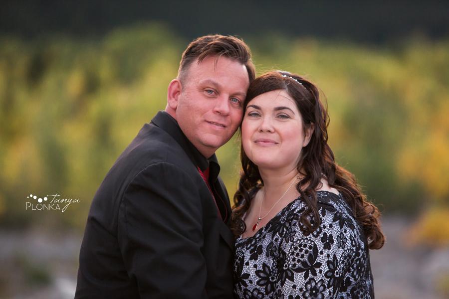 Desiree and Craig, Crowsnest Pass Frank Road wedding photos